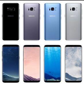 Samsung Galaxy S8 G950U Verizon TracFone Straight Talk Total Unlocked AT&T Good
