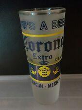 Cancun Corona Shot Glass Life's a Beer