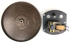 "Unknown Brand Turntable Motor Plate, Idler Wheel, 9"" Turntable Platter, Parts"