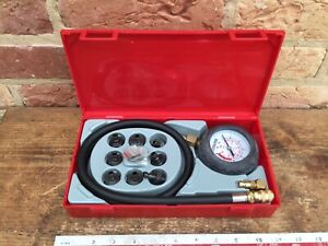 TENG TOOLS Oil pressure test Kit / boxed don't think been used much