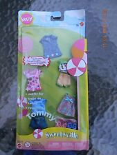 """NEW!  Barbie """"Sweetsville"""" 4 Outfits for KELLY & 1 Outfit for TOMMY"""