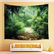 Rainforest Palm leaves Tapestry Wall Hanging for Living Room Bedroom Dorm Decor