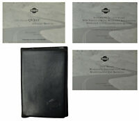 1999 99 Nissan Quest Owners Operators Manual Supplement Warranty Booklet W/Case