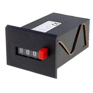 Donau Elektronik ZR220A Impulszähler 220V 4-stellig mit manueller Rückstellung