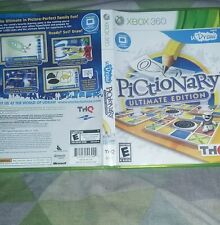 Pictionary ultimate edition xbox 360 game used once