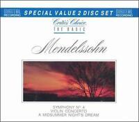 Basic Mendelssohn CD