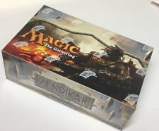 MTG Magic the Gathering Zendikar English Factory Sealed Booster Box