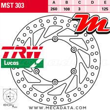 Disque de frein Avant TRW Lucas MST 303 Gas Gas EC 250 (VTREC250...) 2006