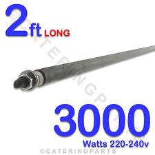"HE2430 24"" / 2ft LONG 3000 watt 3kw DRY / WET ROD HEATING ELEMENT 220-240 HEATER"