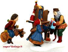 Dept. 56 Christmas Bazaar Toy Vendor & Cart Set of 2 Retired New England 56597