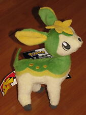 DEERLING Summer Pokemon Black & White 3 Green Deer Mini Plush Jakks Pacific NEW