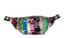 OMG Fanny Pack adjustable purse belt bag multicolor sequins NWT