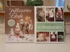 Ensemble de 2 livres de pâtisseries féeriques - Elodie Martins