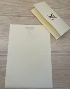Louis Vuitton receipt blank form Authentic & Brand new A4 paper from boutique