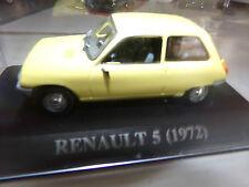voiture miniature 1/43  IXO  RENAULT 5 DE 72