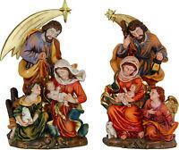 Krippenfiguren Weihnachtskrippe Krippen-block handbemalt Größe 12,8 cm