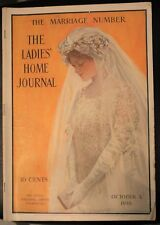 LADIES' HOME JOURNAL MAGAZINE - OCTOBER 1910 LETTIE LANE'S PAPER DOLLS VINTAGE
