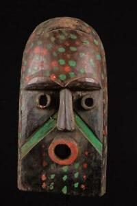14658 Afrikanische Alte Baule Maske / Mask Elfenbeinkuste