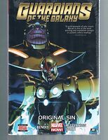 Guardians of the Galaxy Vol 4: Original Sin by Bendis & McGuinnes HC