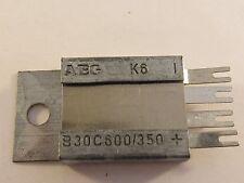 2 Pièces-b30c600/350 AEG Sélénium redresseur en pont bridge rectifier 2x