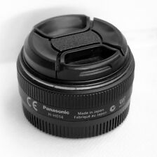 Panasonic Lumix G 14mm f/2.5 ASPH. AF Lens H-H014 Black