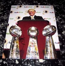 JOE GIBBS WASHINGTON REDSKINS AUTOGRAPHED SIGNED 11X14 PHOTO W/COA #2