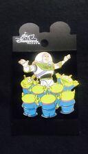 Disney Store Japan Jds Toy Story Buzz and Alien Little Green Men Pin 5755