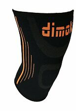 Dimok Knee Compression Sleeve – Knee Support-Increases Strength-Size Large