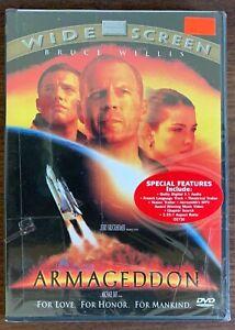ARMAGEDDON New Sealed DVD Widescreen Bruce Willis FREE SHIP