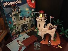 Playmobil 4294 LIGHTHOUSE Complete w/ Box Instructions Spanish Conquistadors HTF