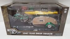 RARE Greenlight GREEN MACHINE 1/24 Hitch & Tow Trailers 1947 Tear Drop Trailer