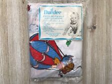 Winnie The Pooh & Friends Baby Toddler Crib Sheet Dundee Disney Vintage NEW VTG
