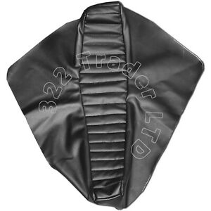 RALEIGH CHOPPER MK2 SEAT COVER - BLACK PVC LEATHER - TOP QUALITY - REPRODUCTION