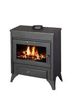 Poêle à bois pour chauffage central cheminée arrière chaudière Modène B 13-21 KW