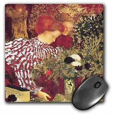 3dRose LLC 8 x 8 x 0.25 Inches Mouse Pad, The Striped Blouse