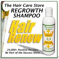 natural HAIR RENEW ® SHAMPOO loss regrowth women treatment thin alopecia female