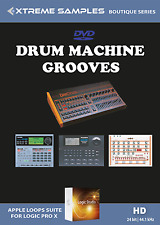 Xtreme Samples Boutique Drum Machine Grooves | Apple Logic Pro X EXS24 Library