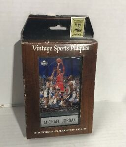 Michael Jordan Limited Edition Collectible Sports Plaque