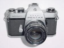 PENTAX SPOTMATIC SP II 35 mm film SLR manuel appareil photo avec SUPER TAKUMAR 55 mm F2 Lentille