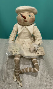 Gathered Traditions By Joe Spencer Gallerie II Marie Snowflake Doll