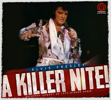 TOUT NOUVEAU CD IMPORT ELVIS PRESLEY- KILLER NITE -LAS VEGAS 72 - NEUF / SEALED