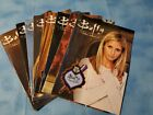 Buffy The Vampire Slayer Official Fan Club lot of 8 Spike Willow Faith Angel