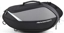 BAGSTER ESCAPE MOTORCYCLE PANNIER BAGS - 15-20 LITRES (PER SIDE) BLACK/GREY