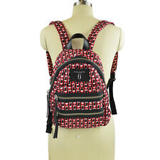 NWT Marc Jacobs Logo Scream Mini Biker Back pack in Red Multi