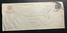 1923 Paris France Hotel lutetia cover To Lancaster PA USA