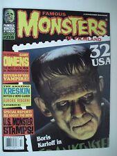 FAMOUS MONSTERS OF FILMLAND RETURN OF THE VAMPIRE! ENGLISH MAGAZINE # 218 1997