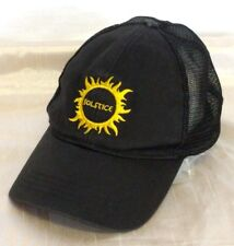 Econscious Solstice Embroidered Baseball Cap Trucker Hat Size S Organic Cotton