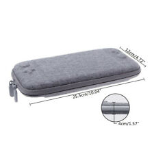 Slim Hard Travel Carrying Case With 8 Game Cartridge For Nintendo Switch Console
