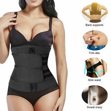 Women Waist Trainer Body Shaper Slimmer Sweat Belt Tummy Control Neoprene Band