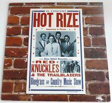 Red phalanges and the Trailblazers-Hot Rize en concert US Vinyl LP